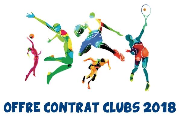 Offres Contrats Clubs 2018